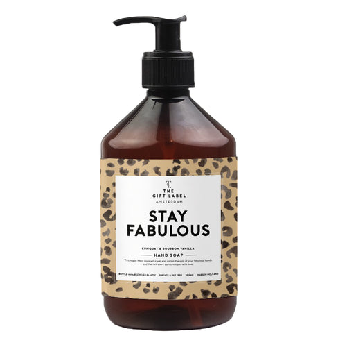 The Gift Label - Hand Soap - Stay Fabulous