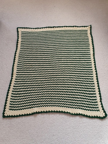 Striped Blanket - Handmade