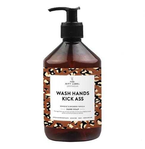 The Gift Label - Hand Soap - Wash Hands Kick Ass