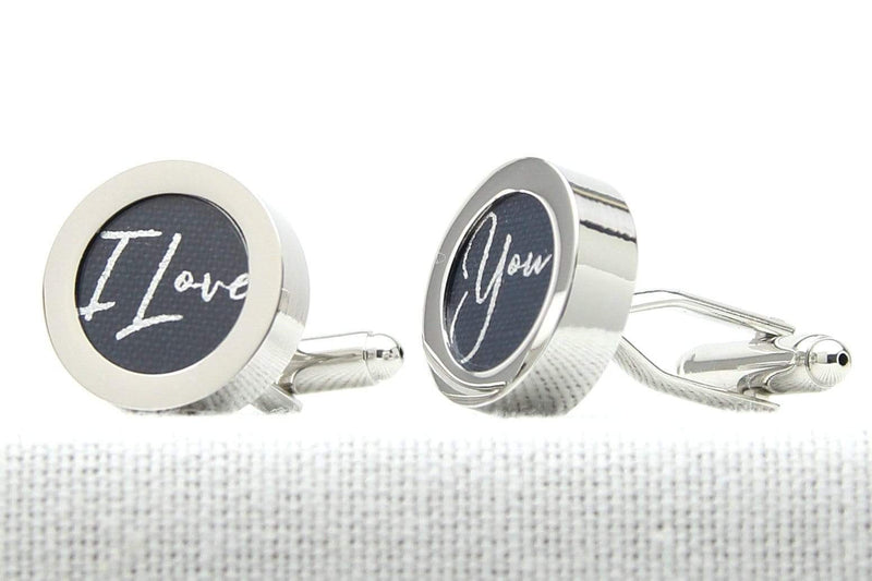 Cotton Print Cufflinks
