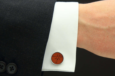 Model View of Beer Cuff Link