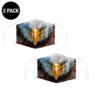 2 Pack - American Eagle Reusable Face Mask