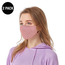 Load image into Gallery viewer, Pink Diamond Reusable Face Mask - 2 Pack