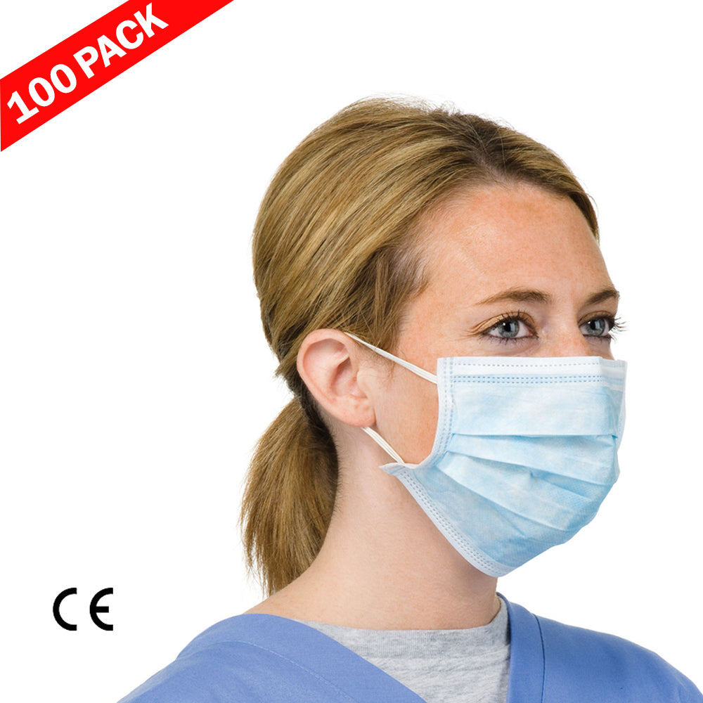 Surgical Mask - 100 Pack