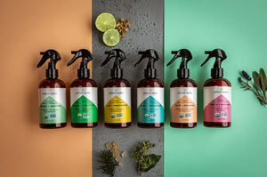 Lush + Sweetening - Organic Bergamot and Chamomile Car Air Freshener and Deodorizer - Aether Auto