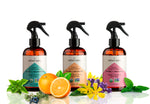 Organic Car Air Freshener 3-Pack with Crisp + Awakening, Calm + Relaxing and Fresh + Reviving - Aether Auto