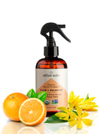 Calm + Relaxing - Organic Sweet Orange and Ylang Ylang Car Air Freshener and Deodorizer - Aether Auto