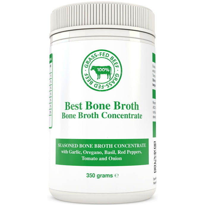 350g - Garlic Herbs & Beef Bone Broth