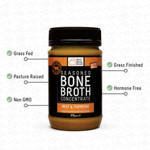 Load image into Gallery viewer, 375g - Turmeric & Beef Bone Broth