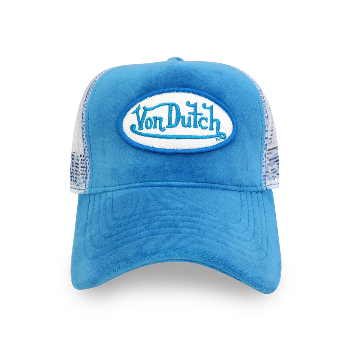 BLUE CRUSH VELVET TRUCKER