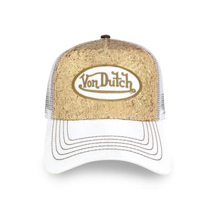 Gold sequin Von Dutch Trucker Hat 2019