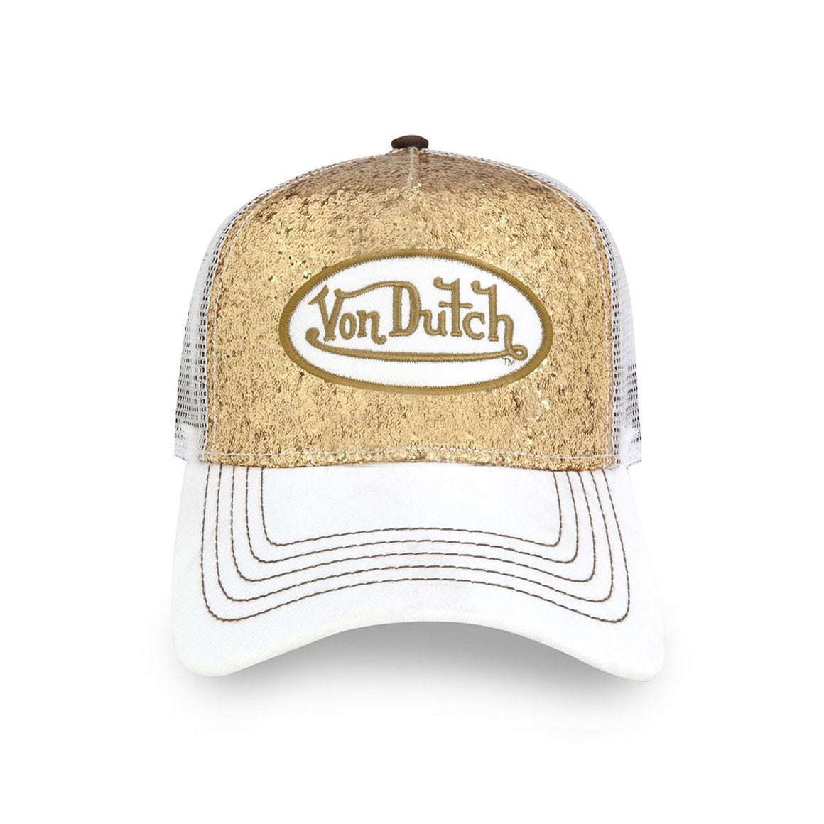 GOLD SPARKLE TRUCKER