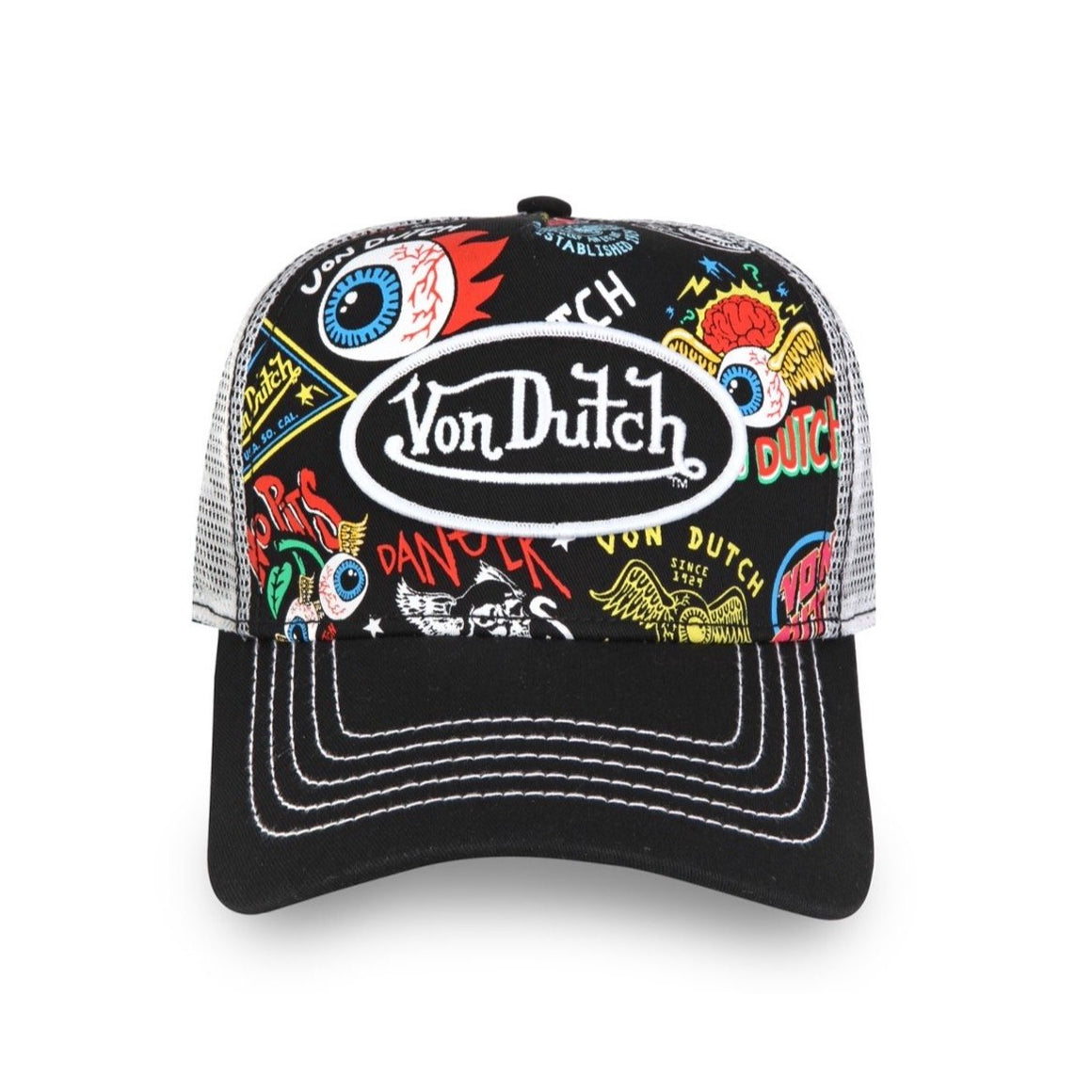 JAX ALL-OVER PRINT TRUCKER