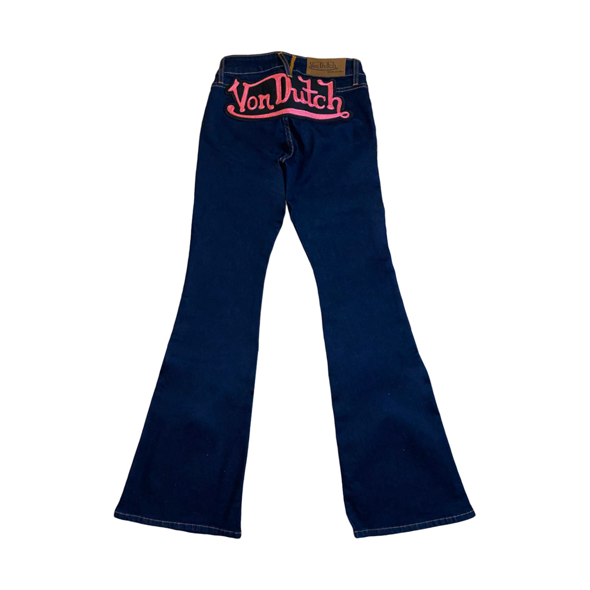 EXCLUSIVE MONOPATCH DENIM JEANS