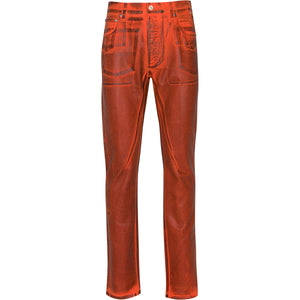 DUTCH BOY DENIM JEANS RUST ORANGE