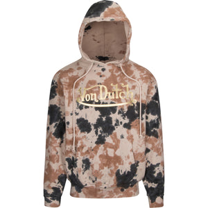 Camo with Gold High Frequency Weld Wordmark Hoodie