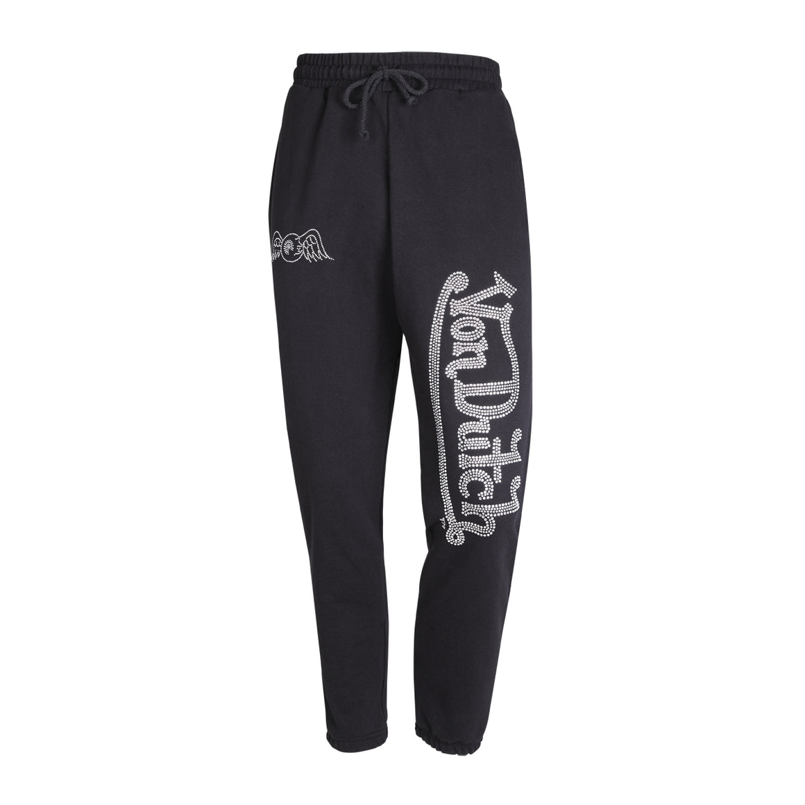 Jogger Midnight with Clear Rhinestones