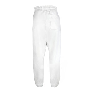 Jogger Off-White with Clear Rhinestones