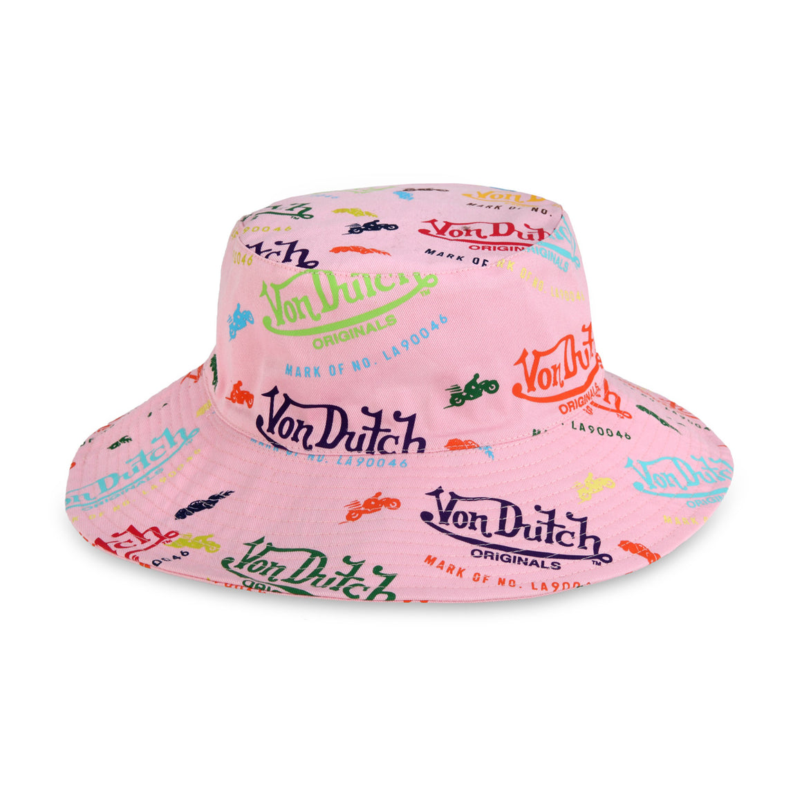 Pink All Over Print Bucket Hat