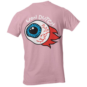 "Von Dutch ""Flame"" Dusty Rose Tee"