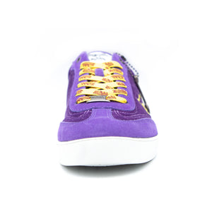 Women's Vanderdutch velvet Purple & Gold