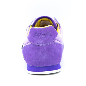 Men's Velvet Vanderdutch Sneaker Purple & Gold