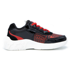 Women's Red & Black Fairfax Sneaker
