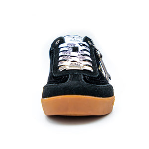 Women's Velvet Vanderdutch Sneaker Black & Gold