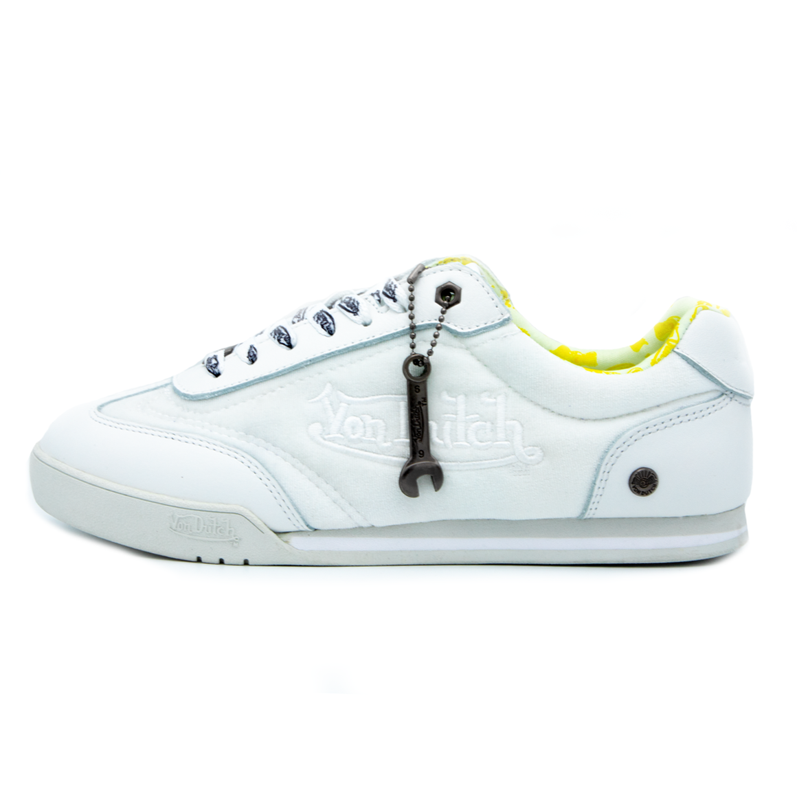 Men's Velvet Vanderdutch Sneaker Yellow Snow