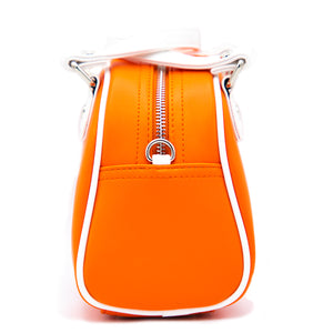 New Orange & White Von Dutch Bowling Small Bag