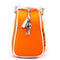 New Orange/white Von Dutch Bowling Bag