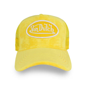 Lemon Velvet Trucker