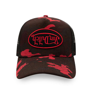 RED RAMBO CAMO TRUCKER