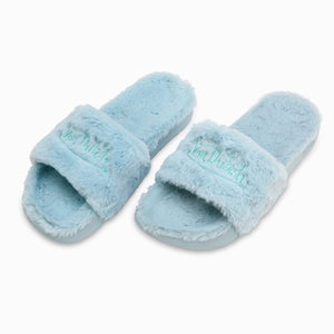 VON DUTCH BLUE FUR SLIDE (Women's)