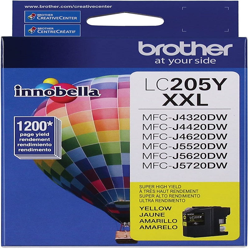 Brother Lc-205 Tinta Cartucho Amarilla
