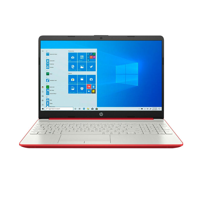 "Hp 15-Dw0081Wm 15"" Laptop Pentium N500 4Gb 500Gb HDD Windows 10 Home Red"