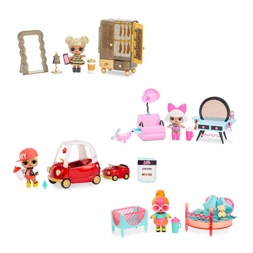 Lol Juego Para Niños Surprise Furniture With Doll