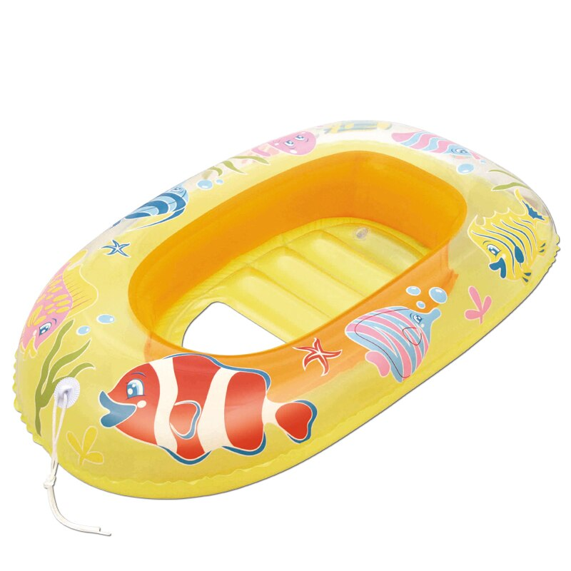 Bote Inflable Para Niños Color Amarillo Bestway
