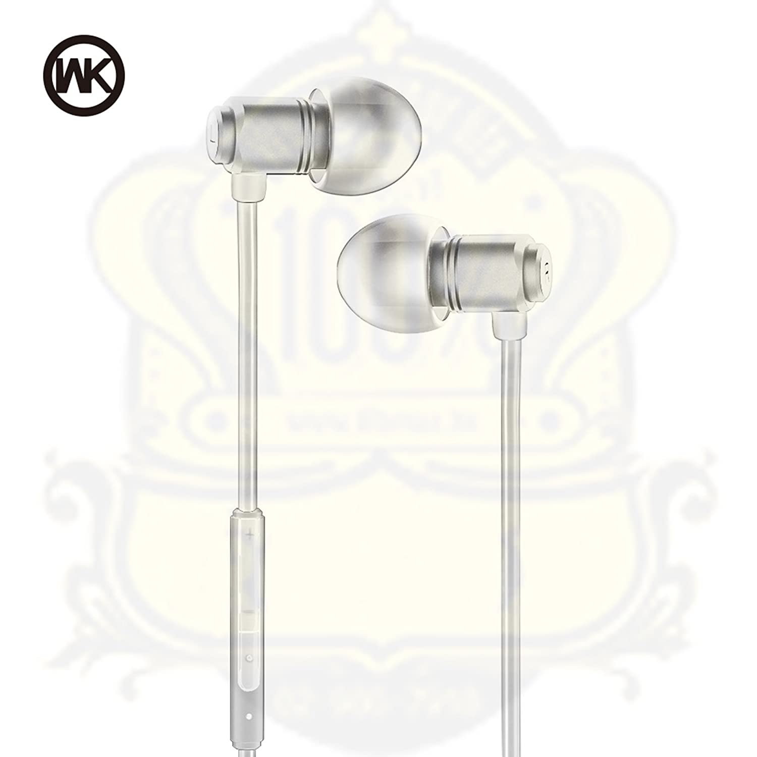 Audífonos Remax WI520 In Ear Alámbrico Blanco