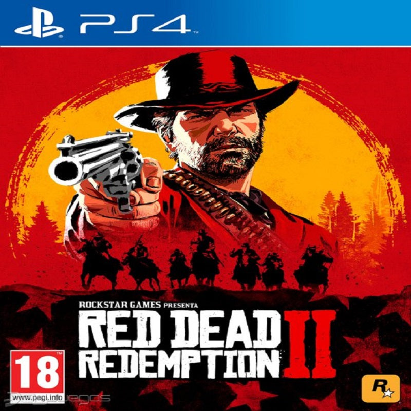 Juego Ps4 Red Dead Redemption 2 Sony