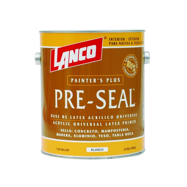 Lanco Pintura Base Pre Seal Blanco Galon