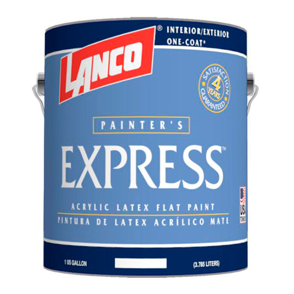 Lanco Pintura Base Express Latex Pastel Galon