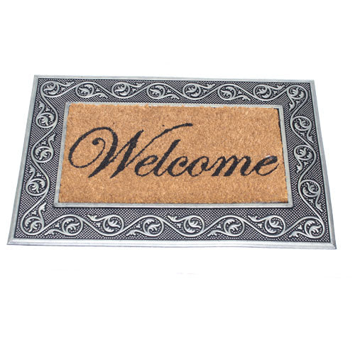 Soho Carpet Alfombra de Entrada Welcome 45X75 Cm Colores Surtidos