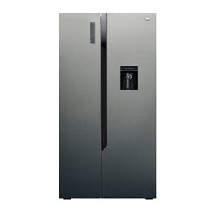 Sankey Refrigeradora 19 Pc Side By Side Rf-2053Ssbd Gris Dispensador de Agua