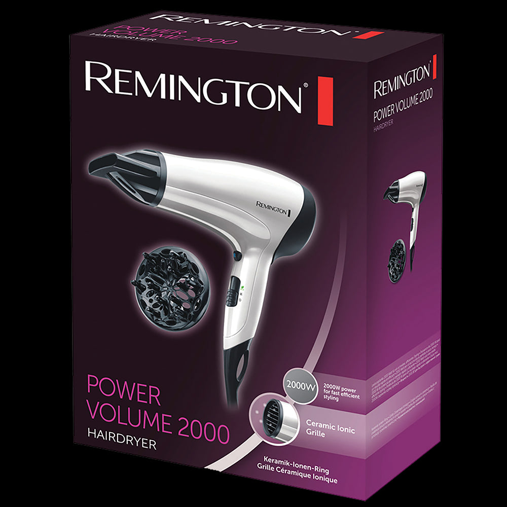 Secador de Cabello D3015 Power Volumen 2000 Remington