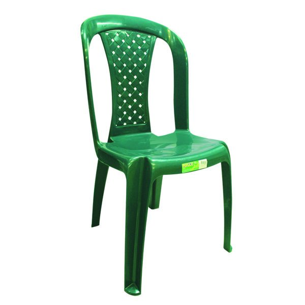 Silla Plastica Reciclada Salsa 8028-xp Color Verde