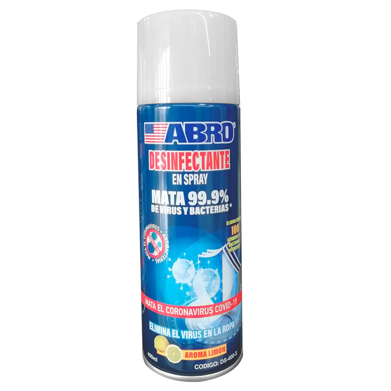 Abro spray desinfectante 400ml