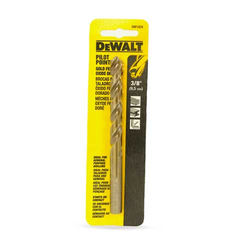 Dewalt Brocas Metal 3/8
