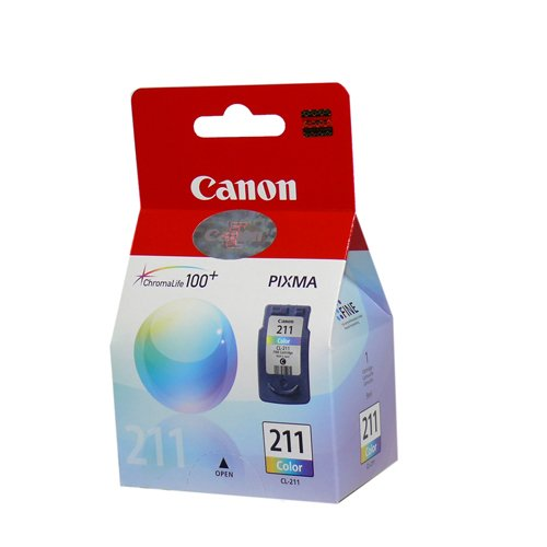 Canon Cl-211 Tinta Cartucho Color