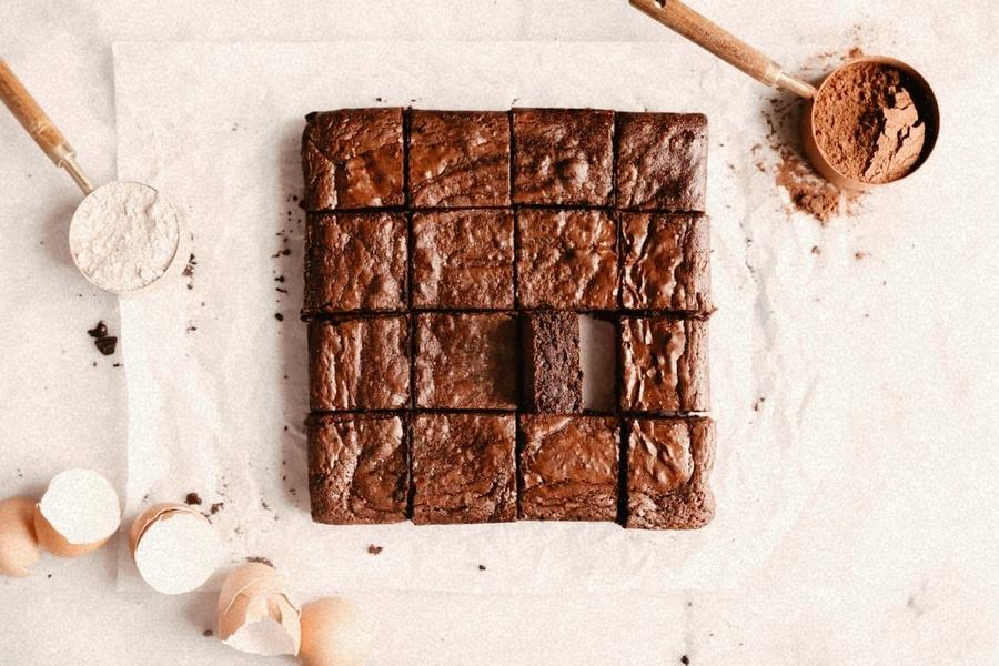 Collagen Chocolate Brownies by SKIIN Company Swiss made collagen